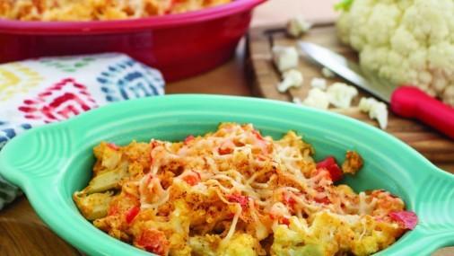 Receta de la Semana: Cacerola de coliflor con pollo y queso