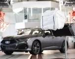 El Acura TLX del 2021 llegará con la nueva tecnología del airbag multicámara