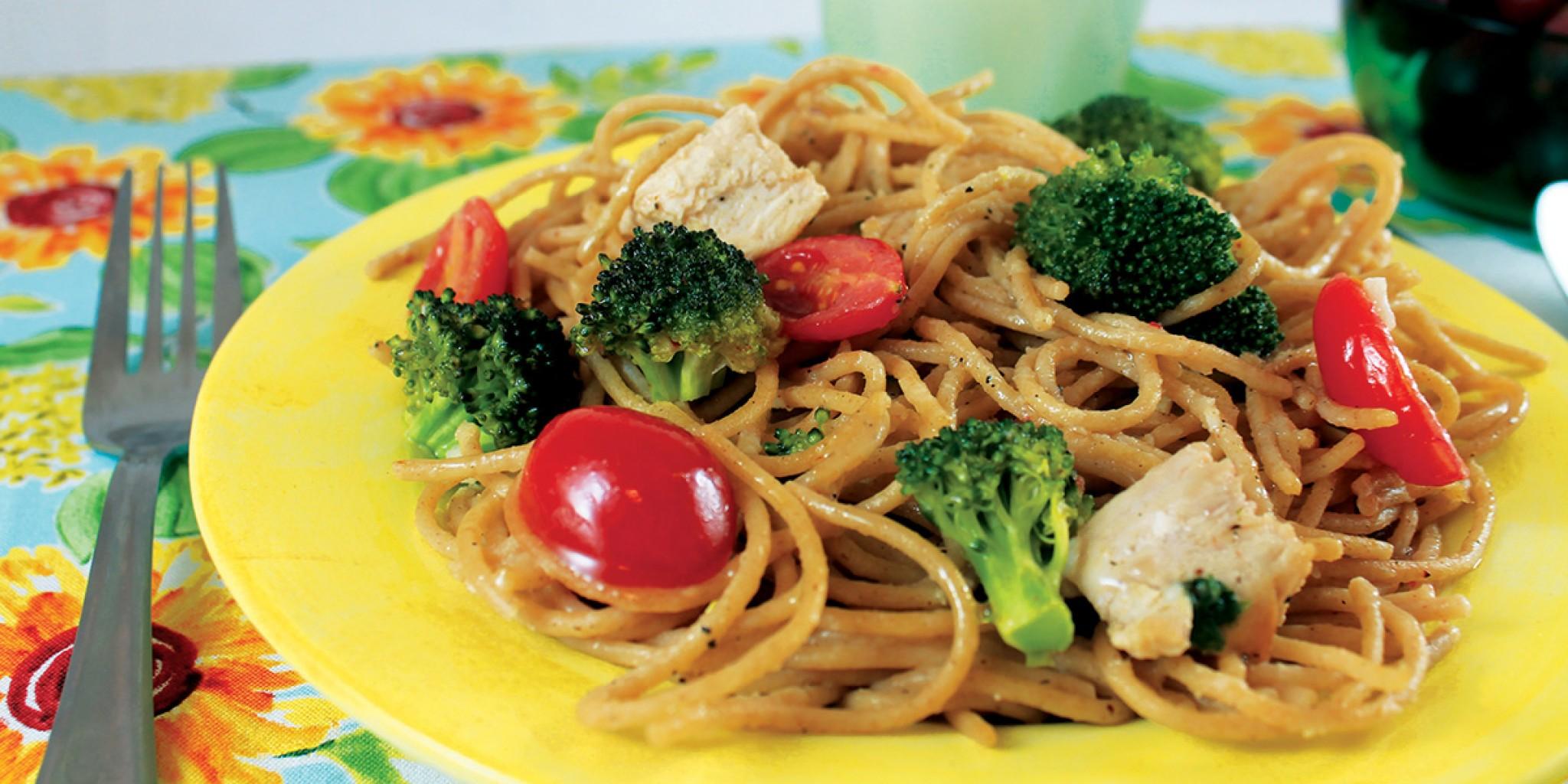 Receta de la Semana: Espagueti veraniego