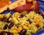 Receta de la Semana: Arroz con verduras  al curry