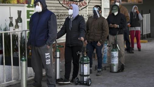 Se complica conseguir oxígeno ante repunte de COVID en México