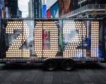 El Kia Sorento del 2021 llega al Times Square luego de recorrer más de 5,500 millas
