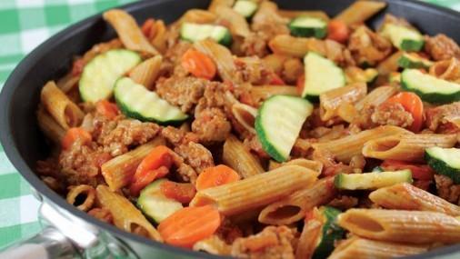 Receta de la Semana: Pasta con Carne de Puerco