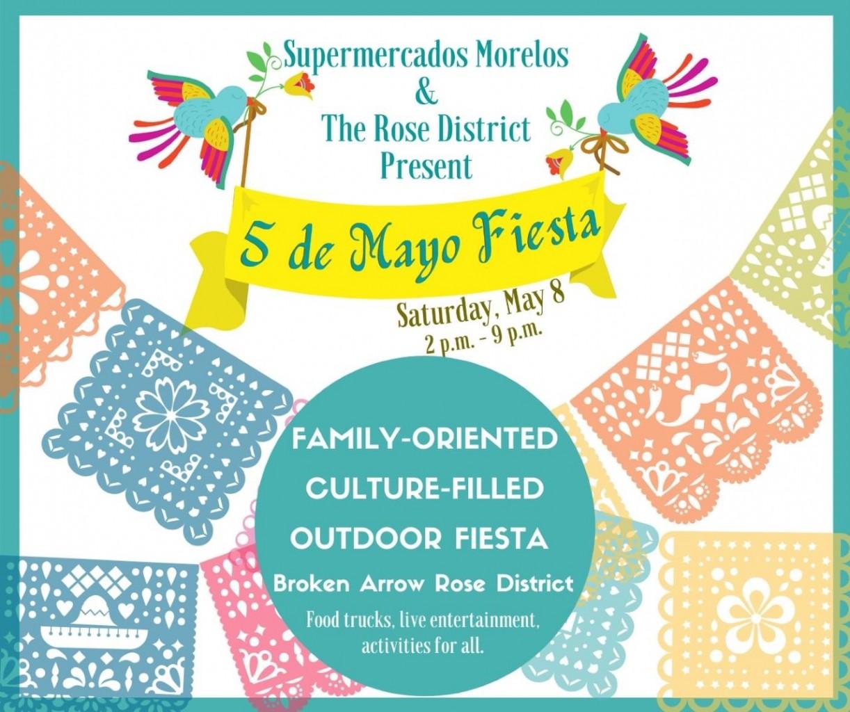 Ciudad de Broken Arrow - Cinco de Mayo Fiesta del Rose District