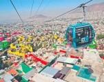 México inaugura el teleférico más reciente de Latinoamérica