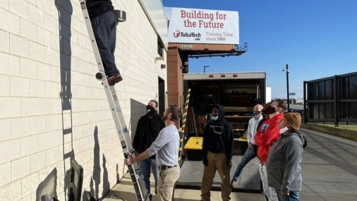 Partnership provides jobs and homes for underprivileged Oklahomans