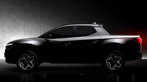 Hyundai ha lanzado el primer boceto teaser del muy esperado Santa Cruz