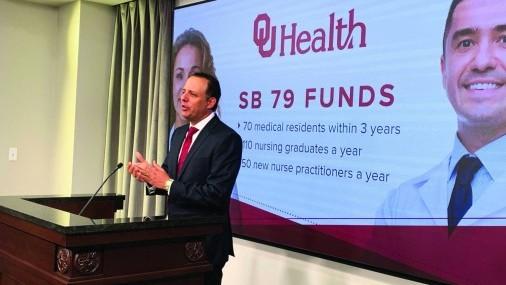 Nueva ley proporciona más capacitación de médicos y enfermeras en Oklahoma