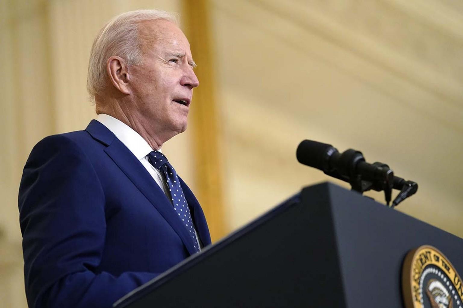Biden pone objetivo de vacunar al 70?adultos estadounidenses antes del 4 de julio