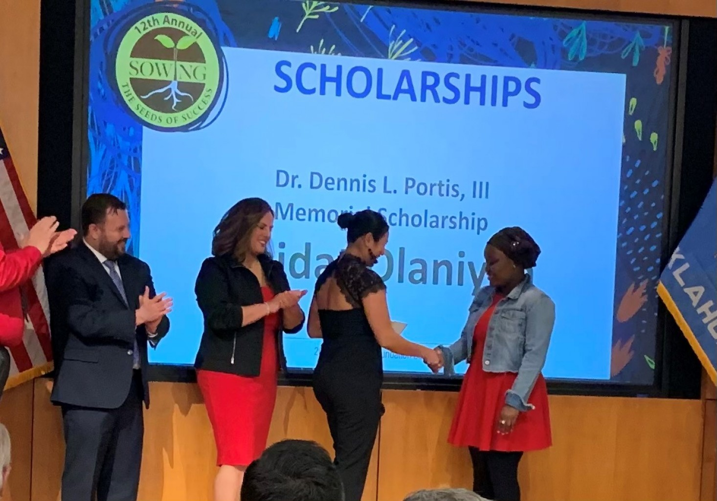 Students receive scholarships and awards at Metro Tech