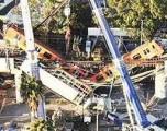 Colapso de paso elevado del metro de Ciudad de México deja al menos 23 muertos