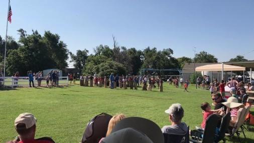 Así Celebró  Seiling Oklahoma
