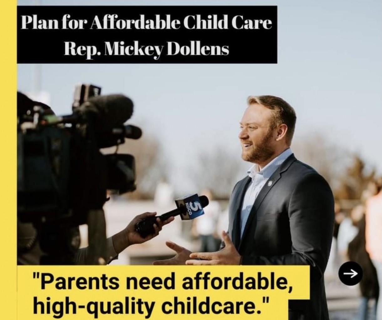 Dollens se compromete a abordar los crecientes costos de Cuidado Infantil