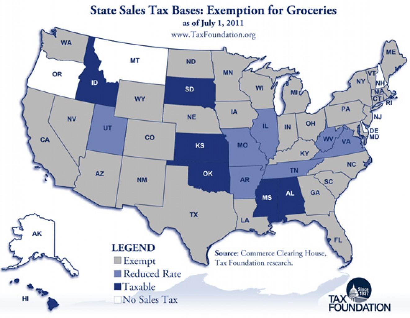 Poner Fin al Impuesto estatal sobre las Ventas de Comestibles