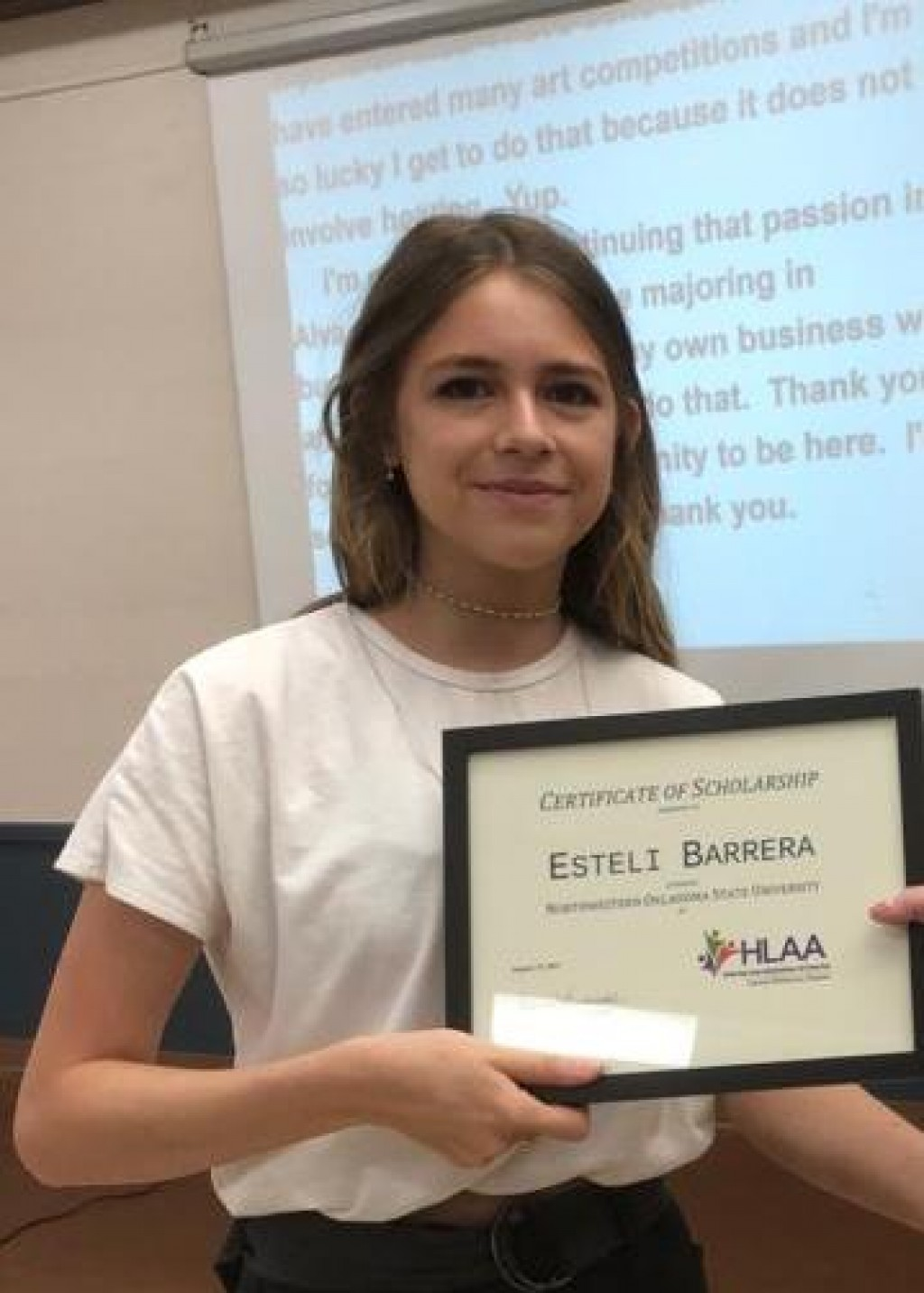 Congratulations to  Esteli Barrera & Daniel Knowsleyl