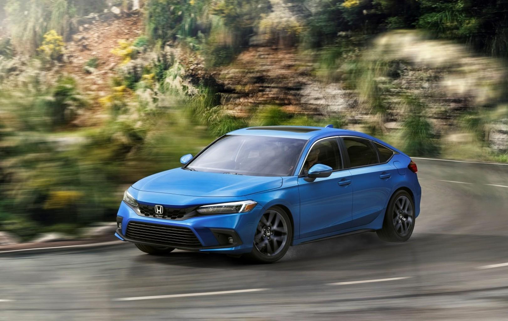 El Honda Civic Hatchback del 2022 sale a la venta con diseño europeo